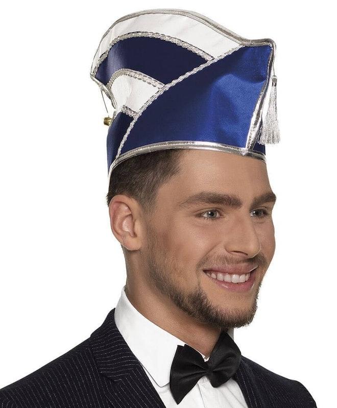 Hoed Comite blauw/wit 827 1000