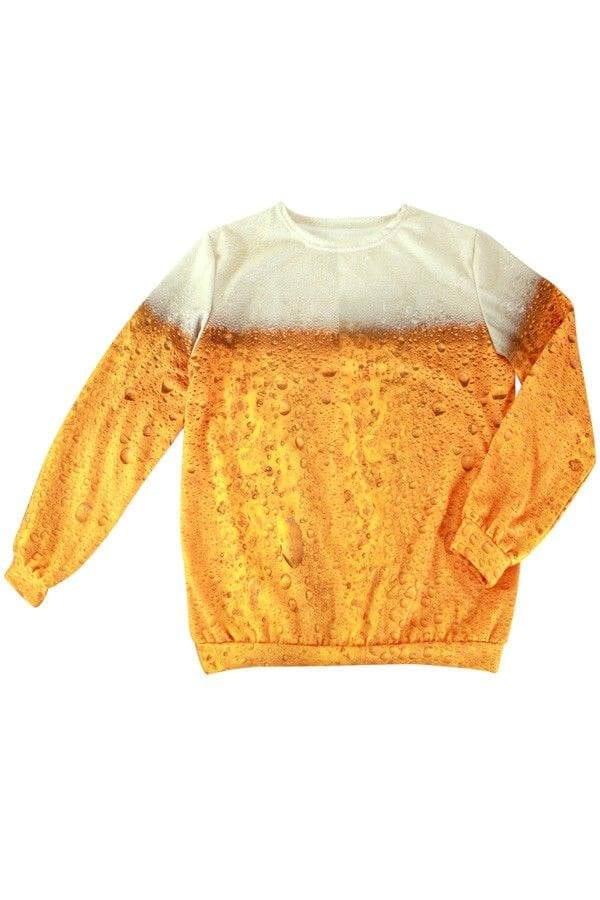 Bier Fleece trui 600 900