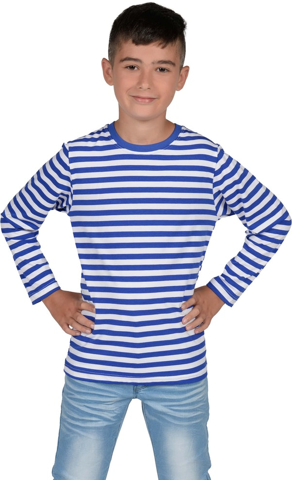Blauw Dorus shirt kinderen 1200 1974