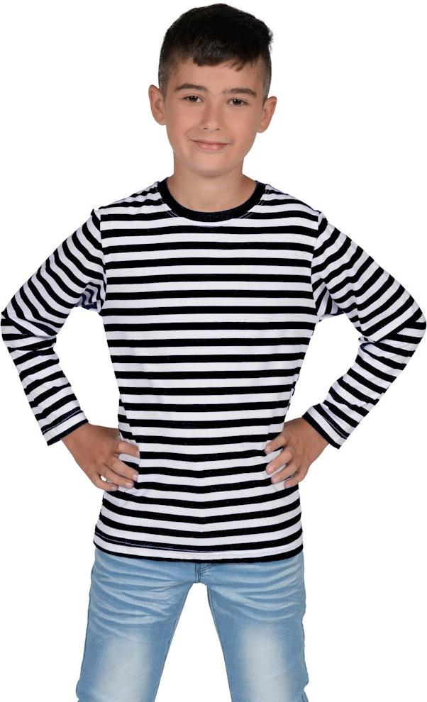 Zwart Dorus shirt kinderen 1200 1974